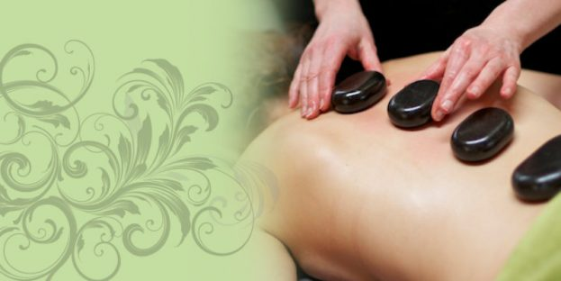 Massage with stones
